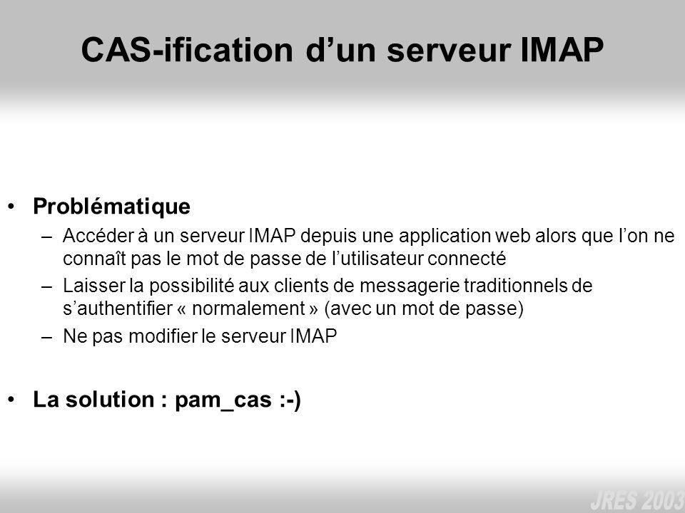 CAS-ification d'un serveur IMAP