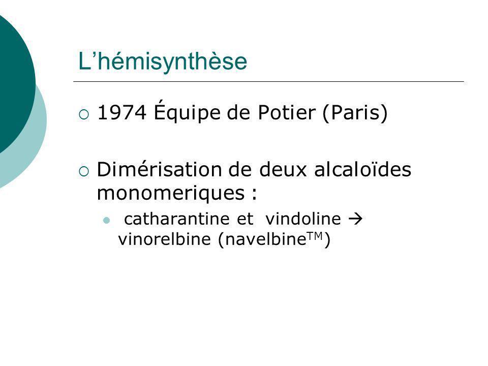 L'hémisynthèse 1974 Équipe de Potier (Paris)
