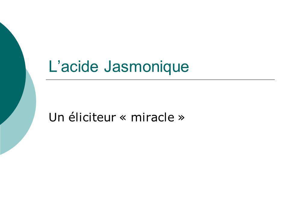 Un éliciteur « miracle »