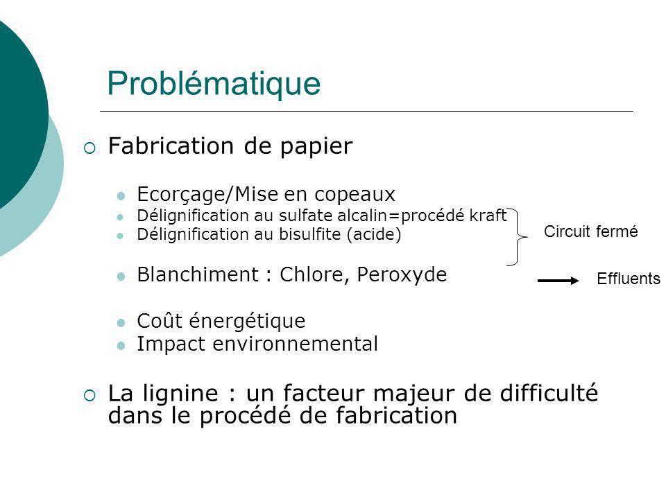 Problématique Fabrication de papier