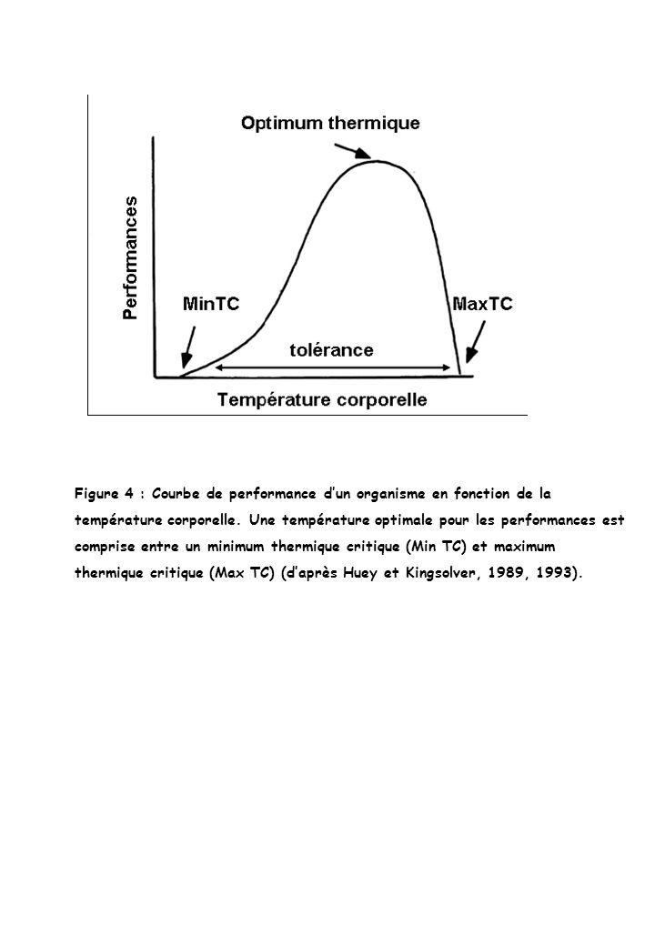 Figure 4 : Courbe de performance d'un organisme en fonction de la
