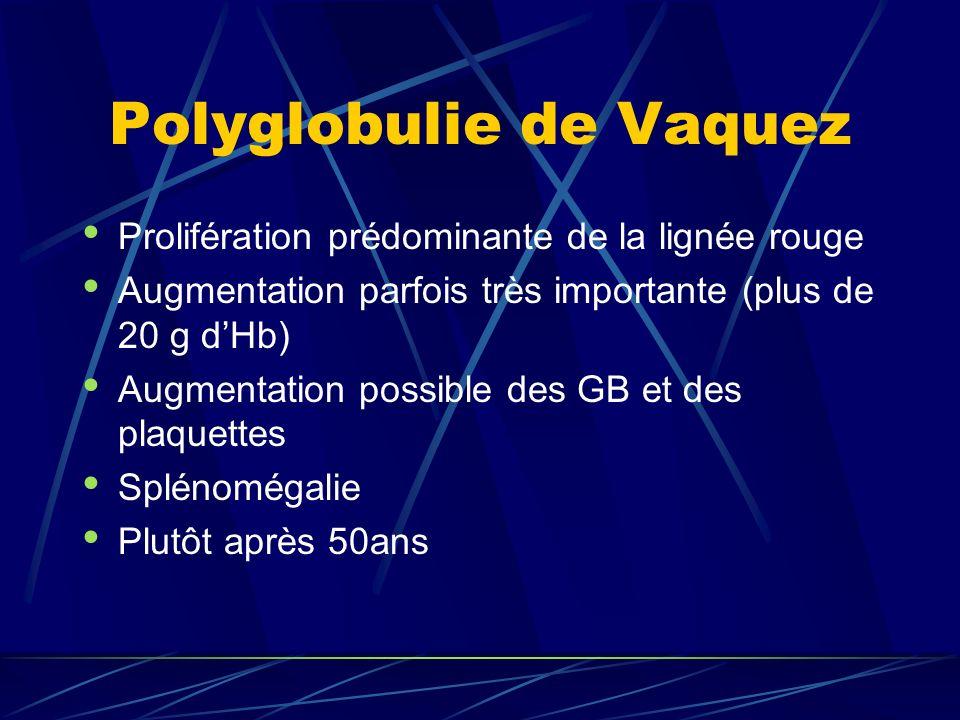 Polyglobulie de Vaquez