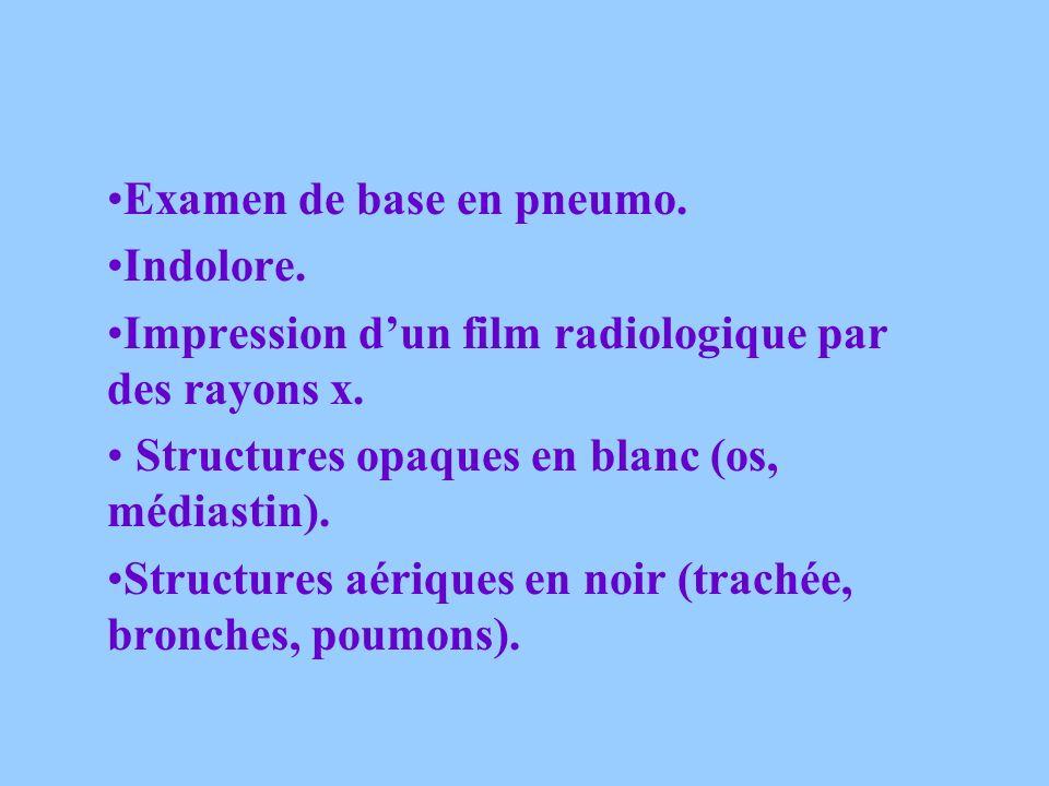 Examen de base en pneumo.