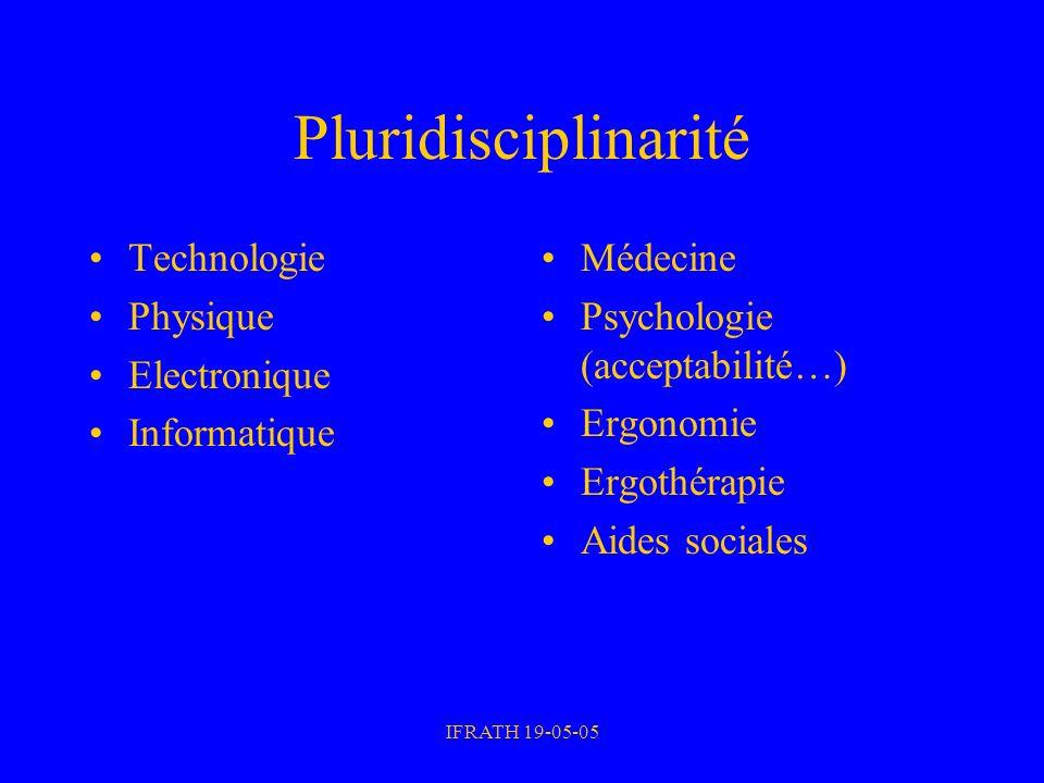 Pluridisciplinarité Technologie Physique Electronique Informatique