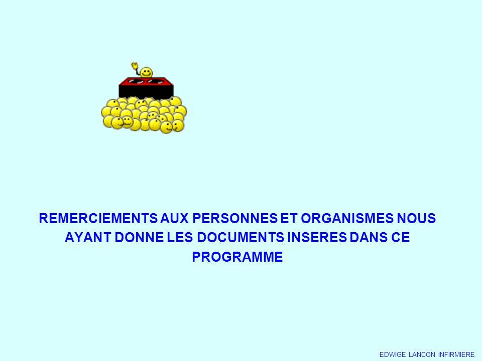 REMERCIEMENTS AUX PERSONNES ET ORGANISMES NOUS