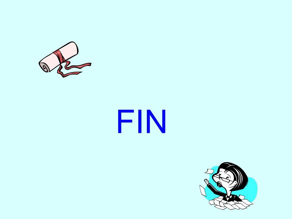 FIN Dernière diapositive