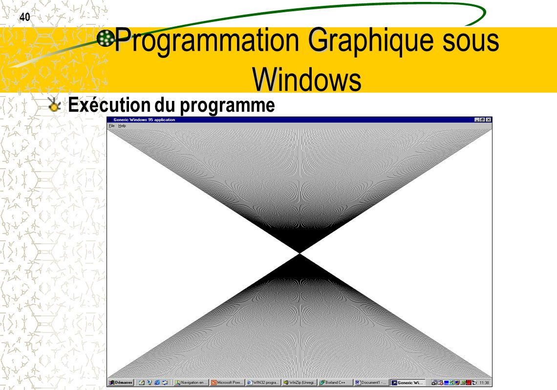 Programmation Graphique sous Windows