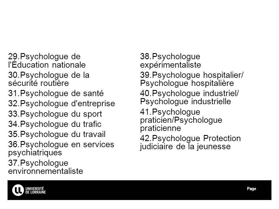 Psychologue de l Éducation nationale