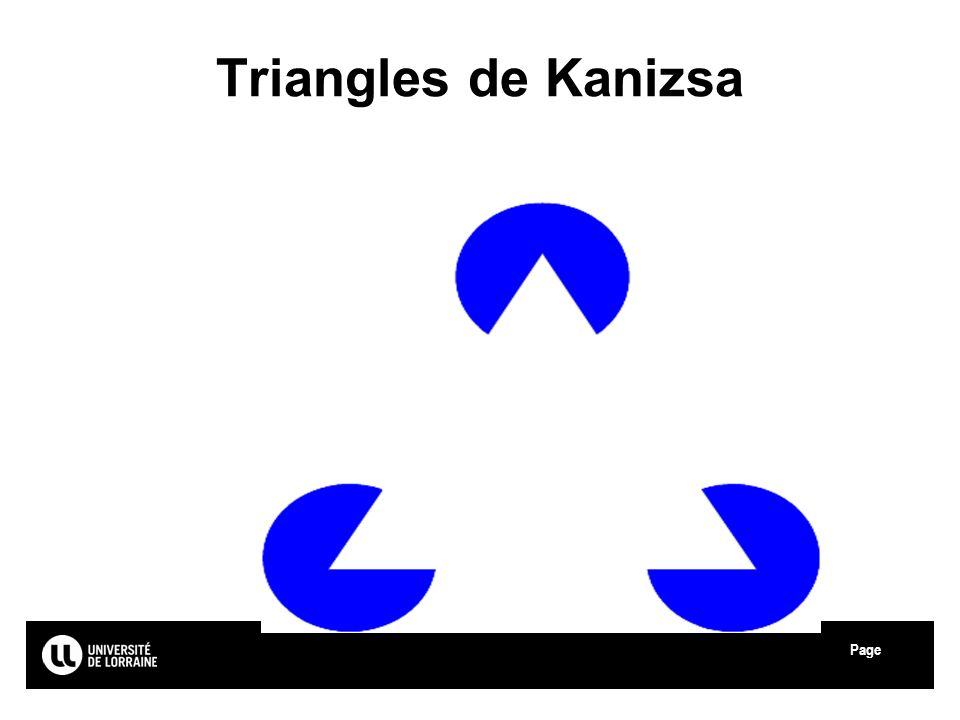Triangles de Kanizsa