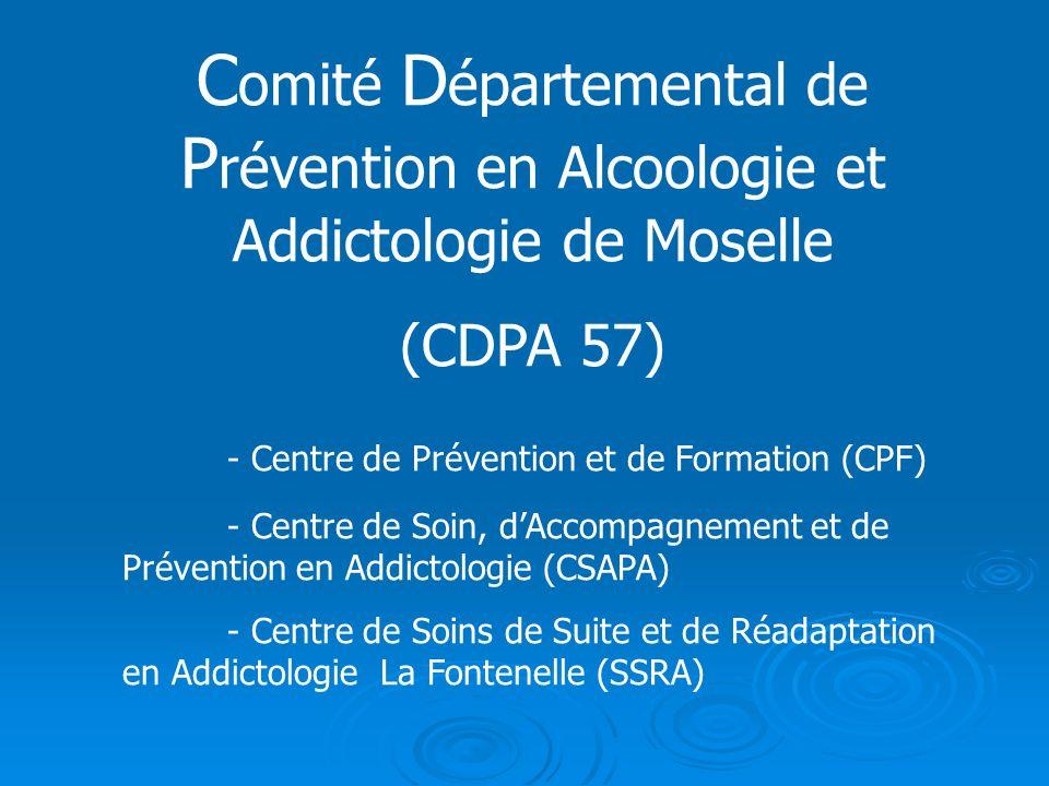 Comité Départemental de Prévention en Alcoologie et Addictologie de Moselle