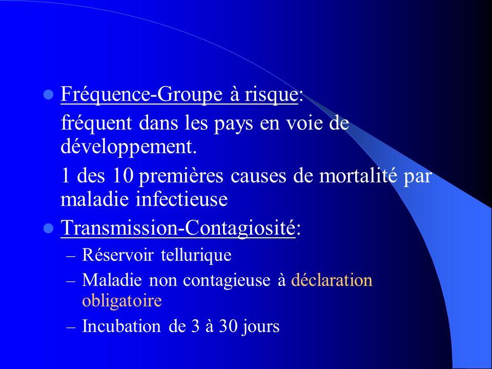 Fréquence-Groupe à risque: