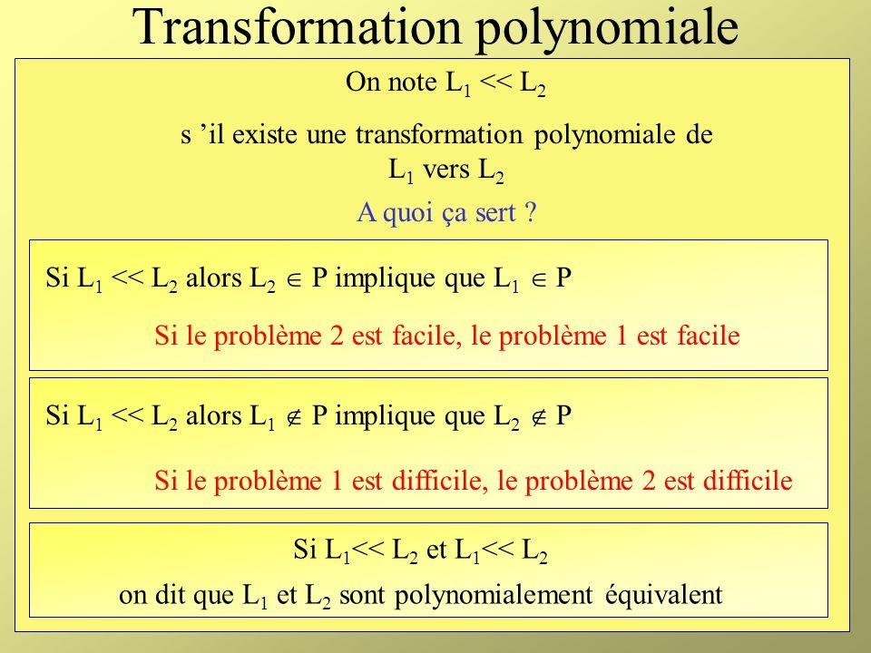 Transformation polynomiale