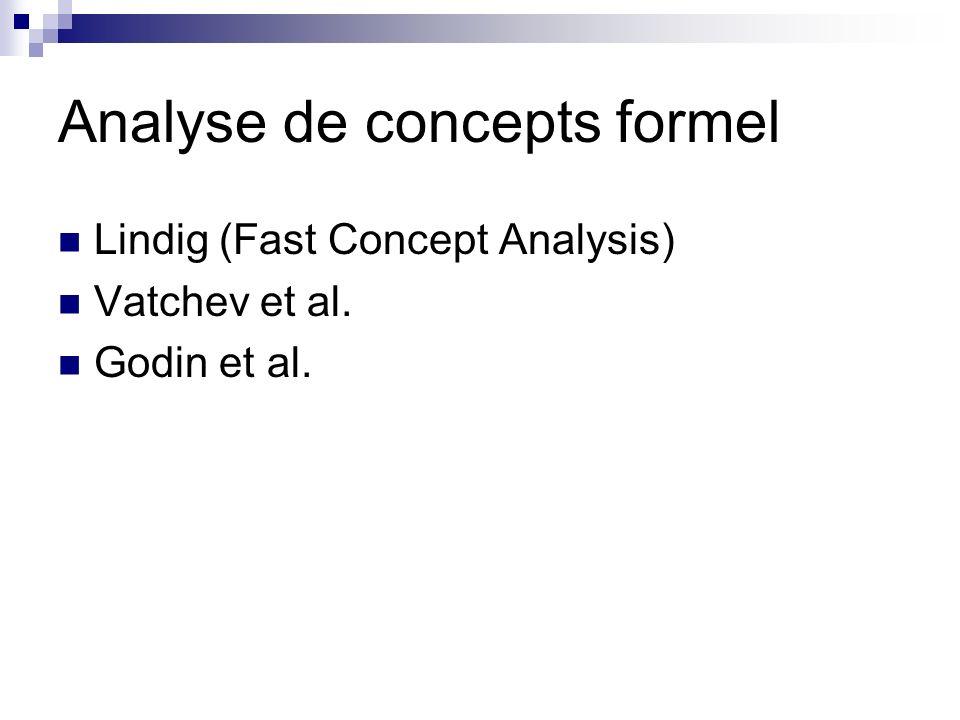 Analyse de concepts formel