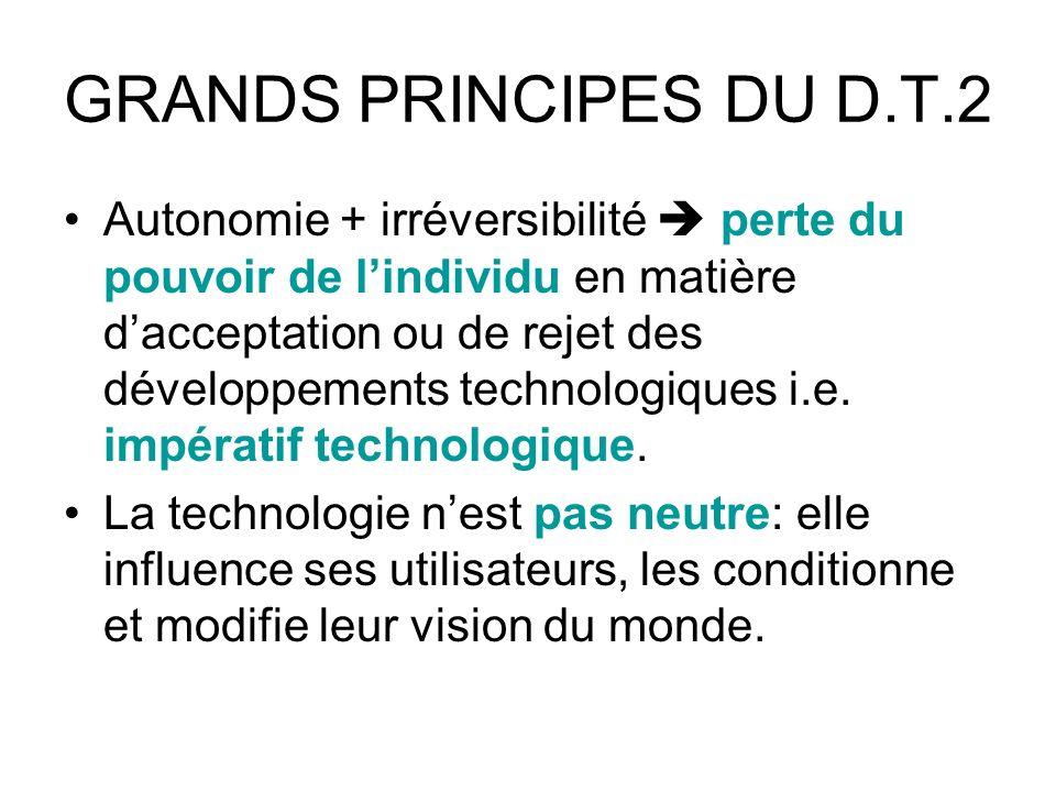 GRANDS PRINCIPES DU D.T.2