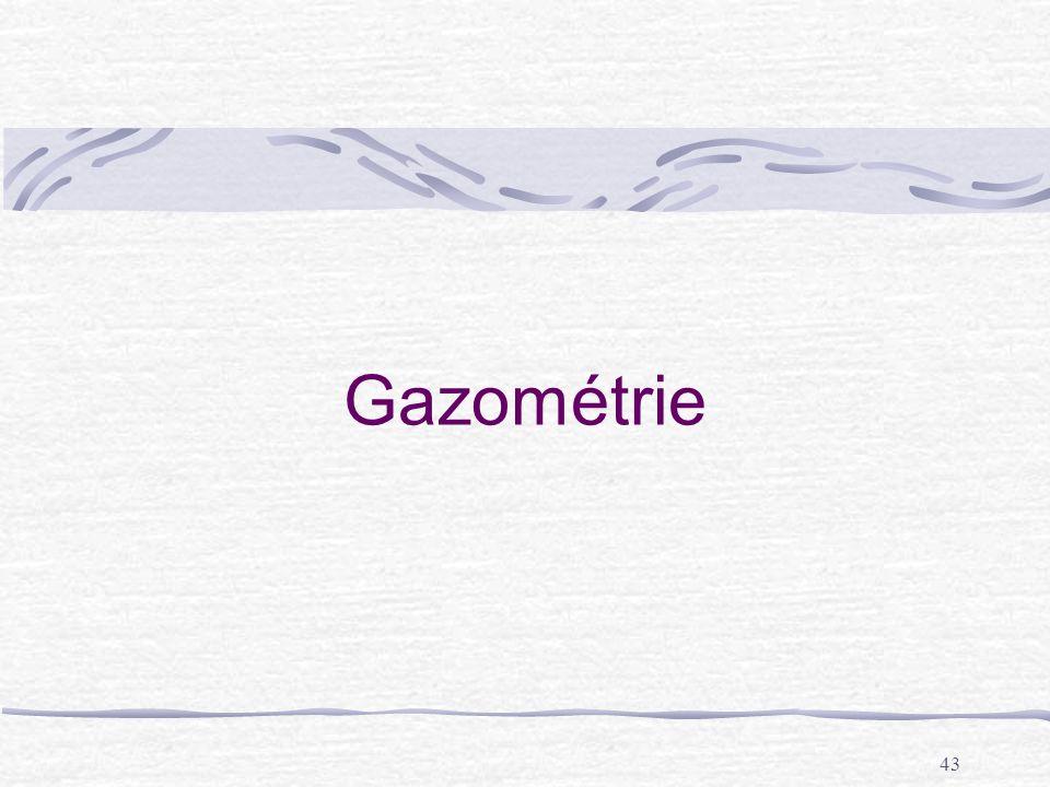 Gazométrie