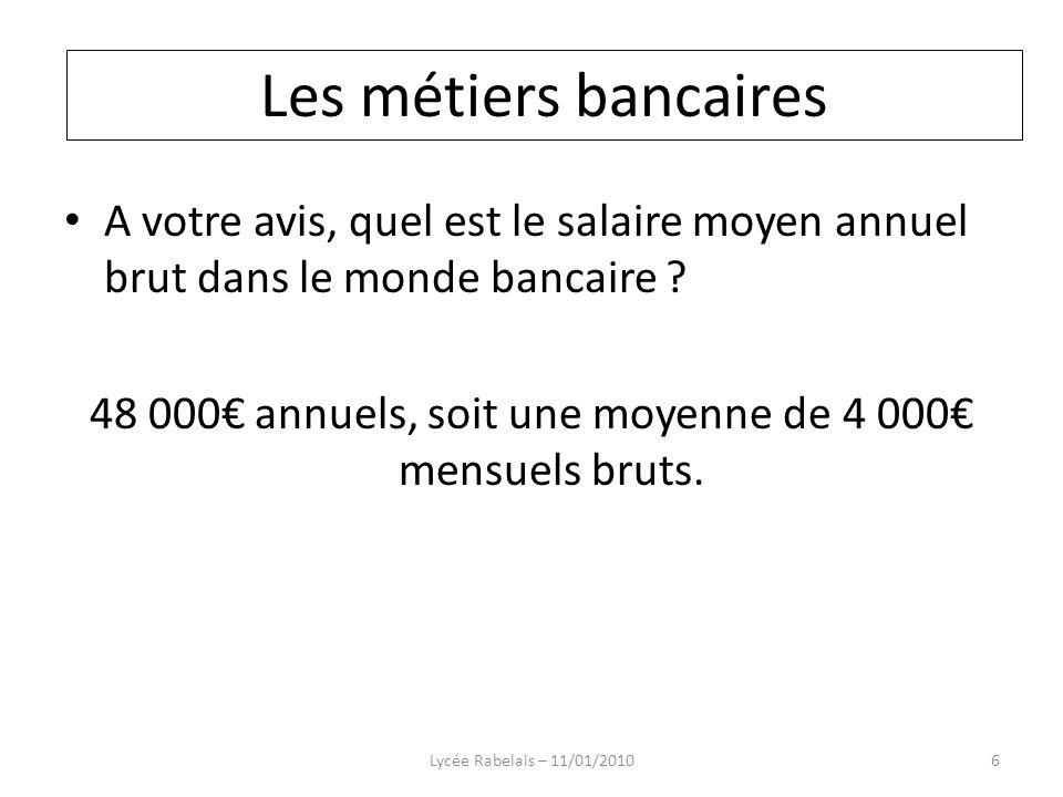 48 000€ annuels, soit une moyenne de 4 000€ mensuels bruts.