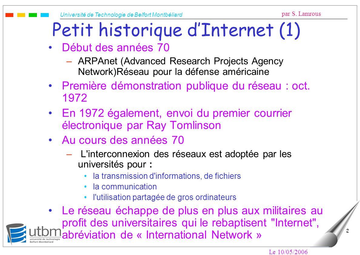Petit historique d'Internet (1)