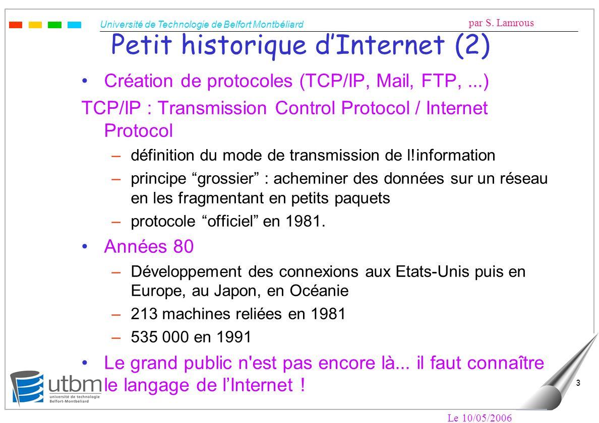 Petit historique d'Internet (2)