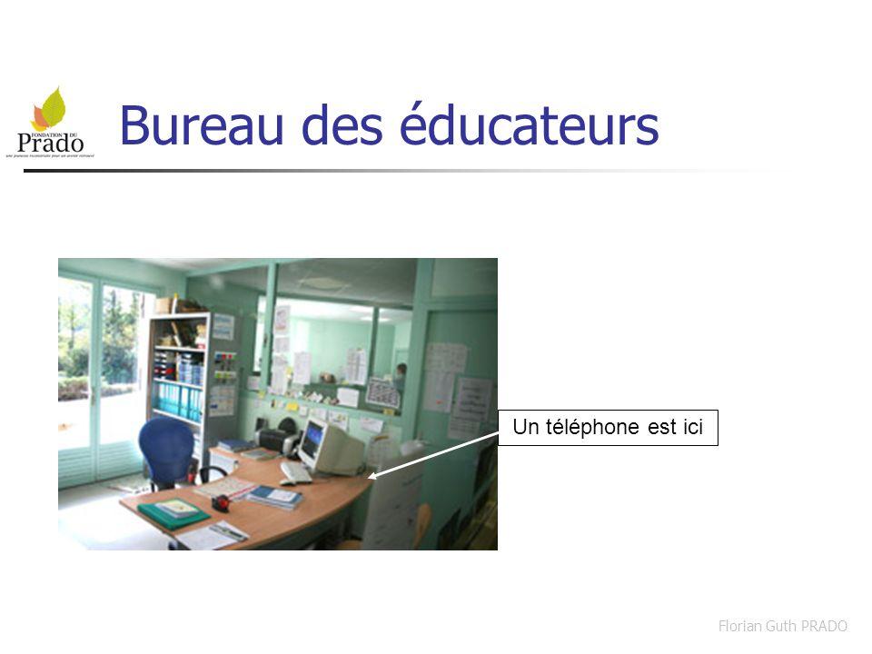 Bureau des éducateurs Un téléphone est ici Florian Guth PRADO
