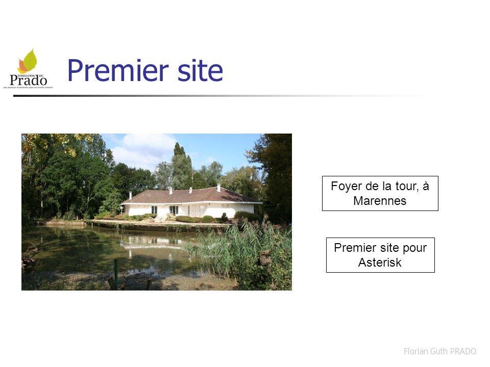 Premier site Foyer de la tour, à Marennes Premier site pour Asterisk