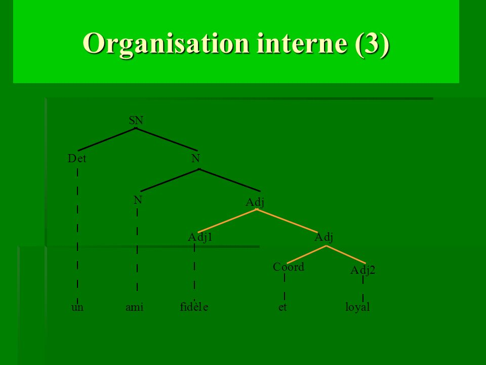 Organisation interne (3)