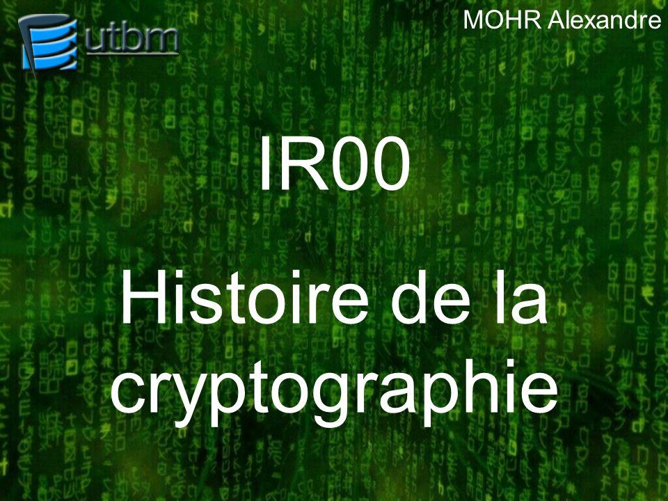 Histoire de la cryptographie