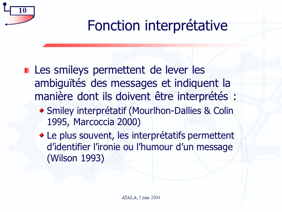 Fonction interprétative