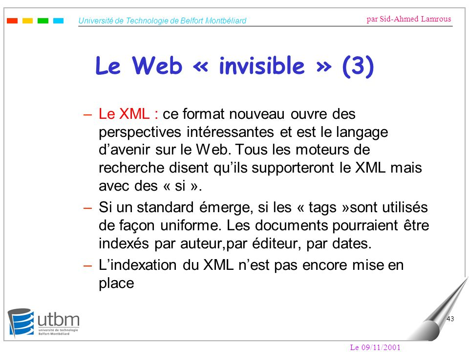 Le Web « invisible » (3)