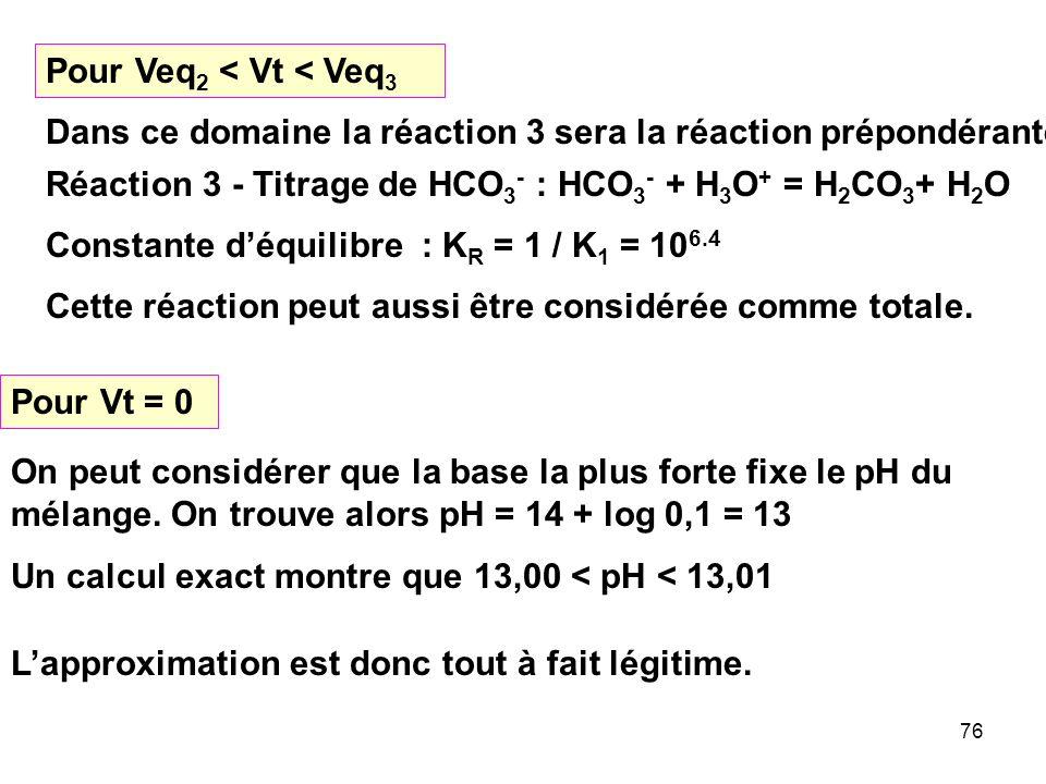 Pour Veq2 < Vt < Veq3