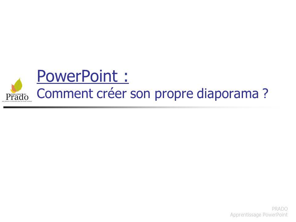 PowerPoint : Comment créer son propre diaporama
