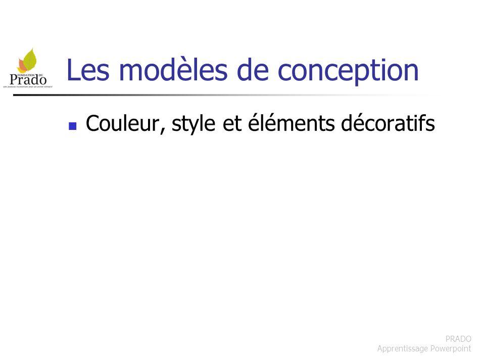 Les modèles de conception