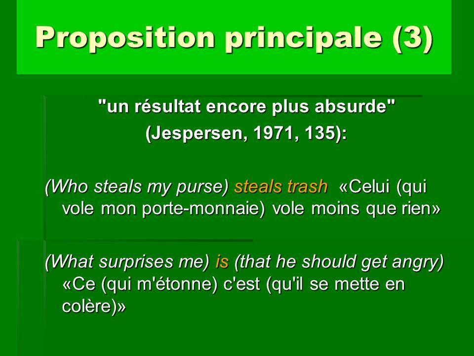 Proposition principale (3)