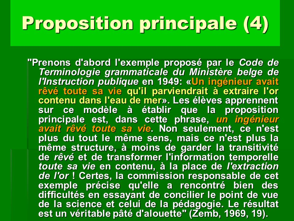Proposition principale (4)