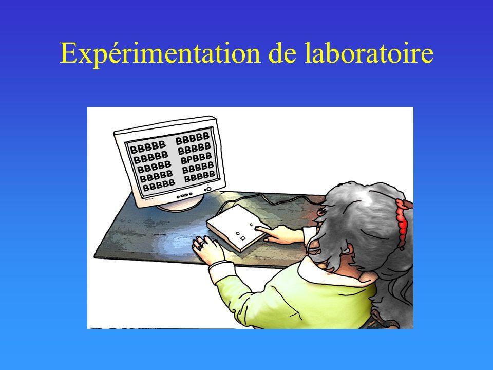 Expérimentation de laboratoire
