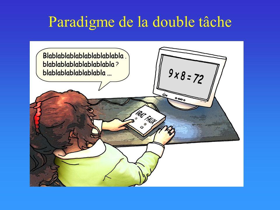 Paradigme de la double tâche
