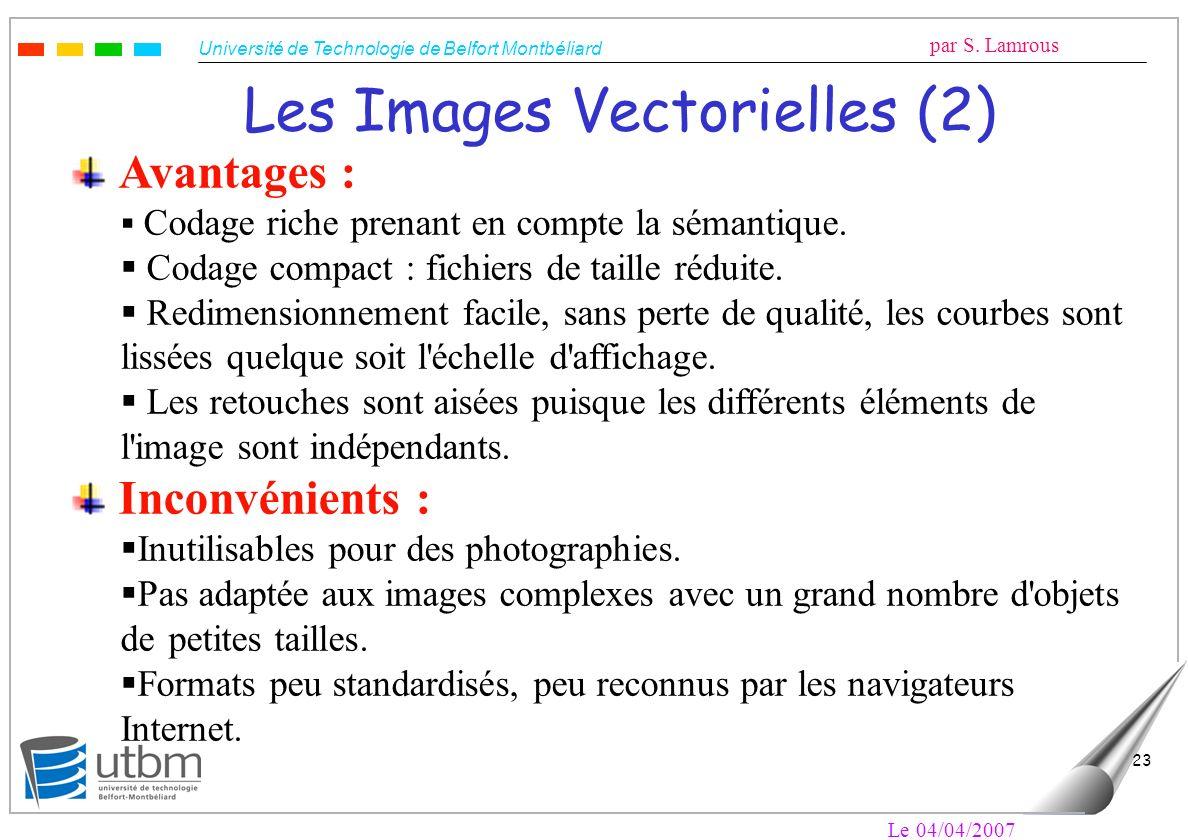 Les Images Vectorielles (2)