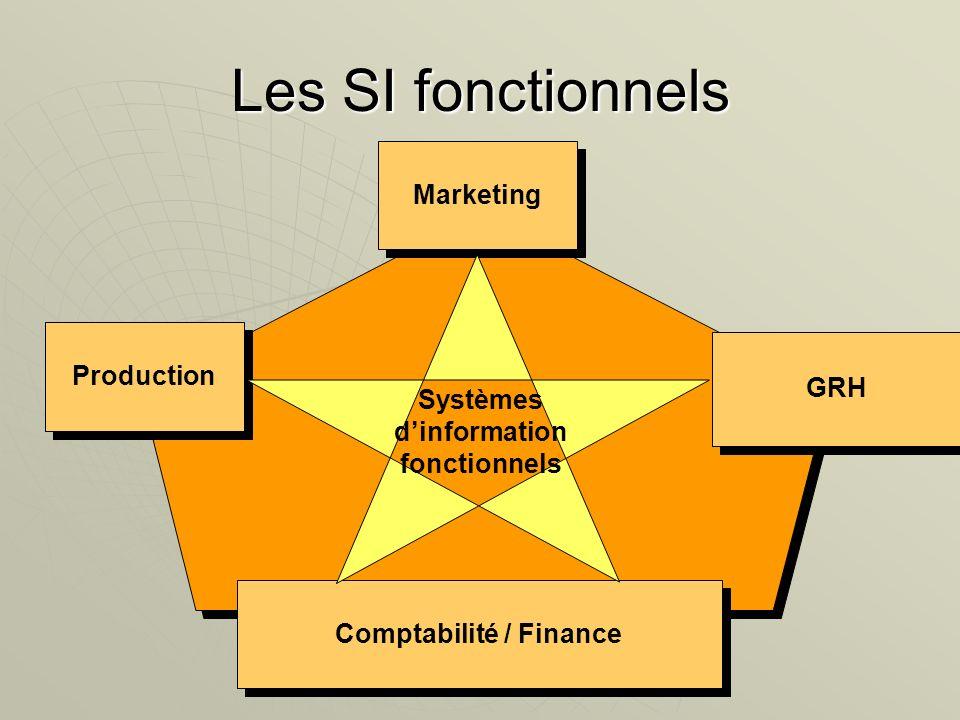 Systèmes d'information fonctionnels Comptabilité / Finance