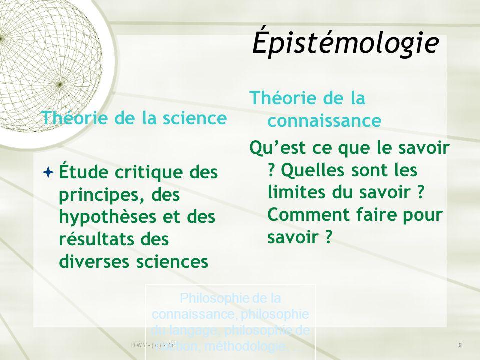 Épistémologie Théorie de la connaissance Qu'est ce que le savoir Quelles sont les limites du savoir Comment faire pour savoir