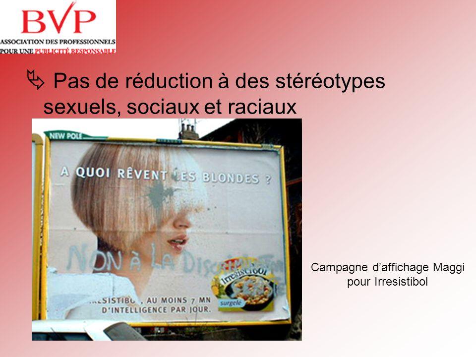 Campagne d'affichage Maggi pour Irresistibol