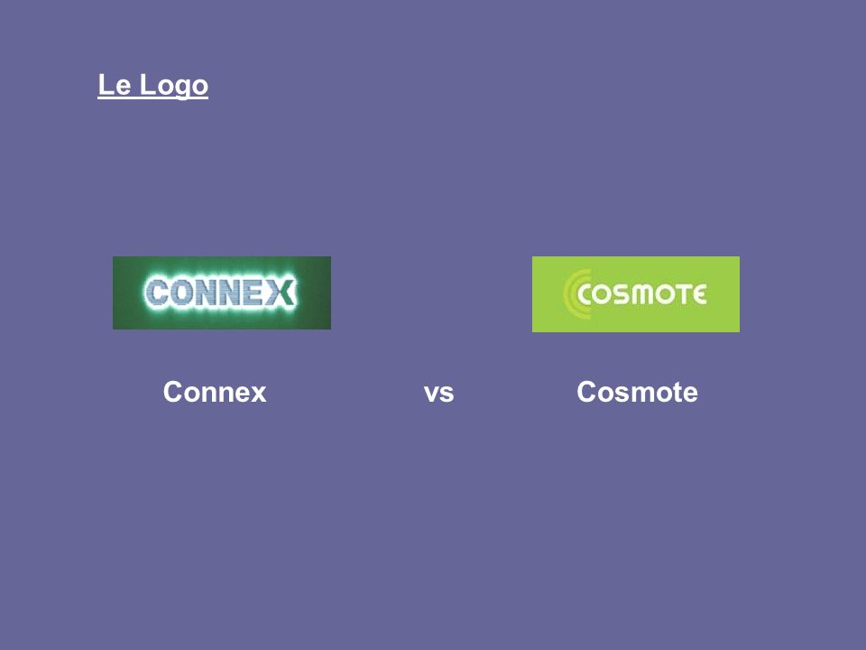 Le Logo Connex vs Cosmote