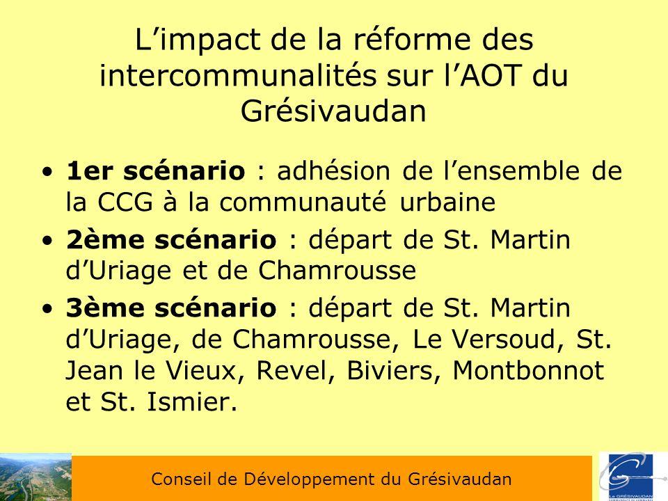 L'impact de la réforme des intercommunalités sur l'AOT du Grésivaudan