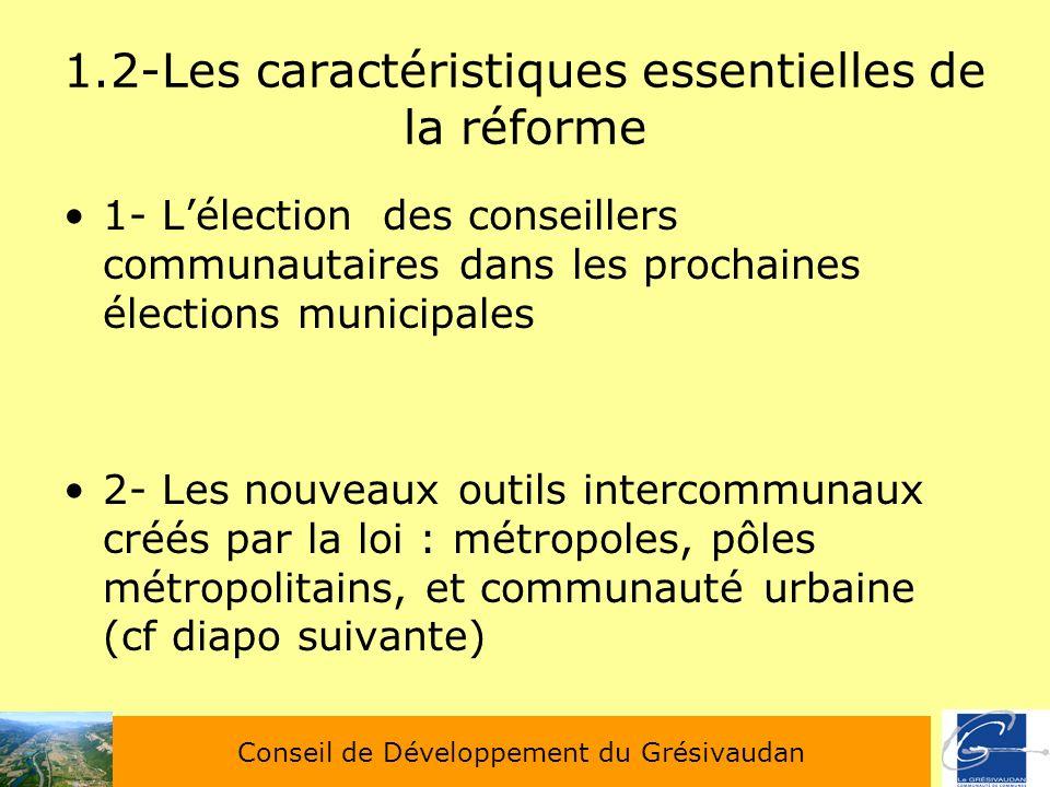 1.2-Les caractéristiques essentielles de la réforme