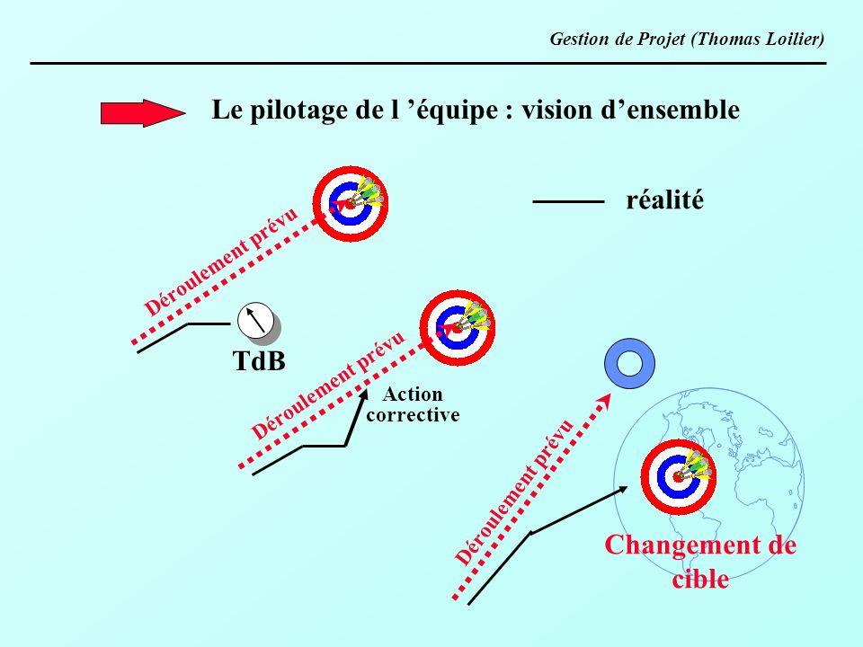 Le pilotage de l 'équipe : vision d'ensemble