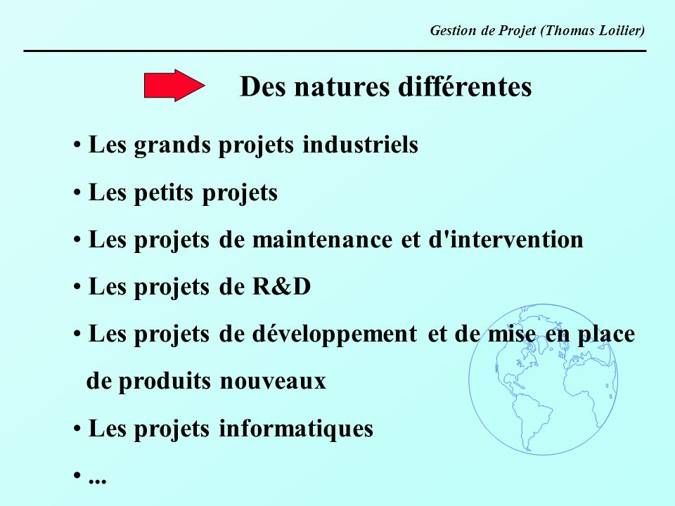 Des natures différentes