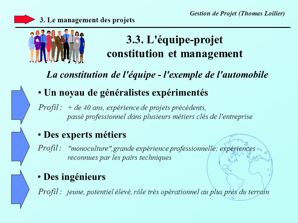 constitution et management