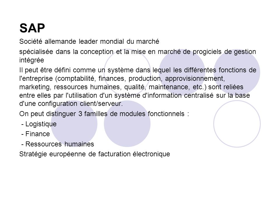 D finition les diteurs les projets erp ppt t l charger - Systeme centralise definition ...