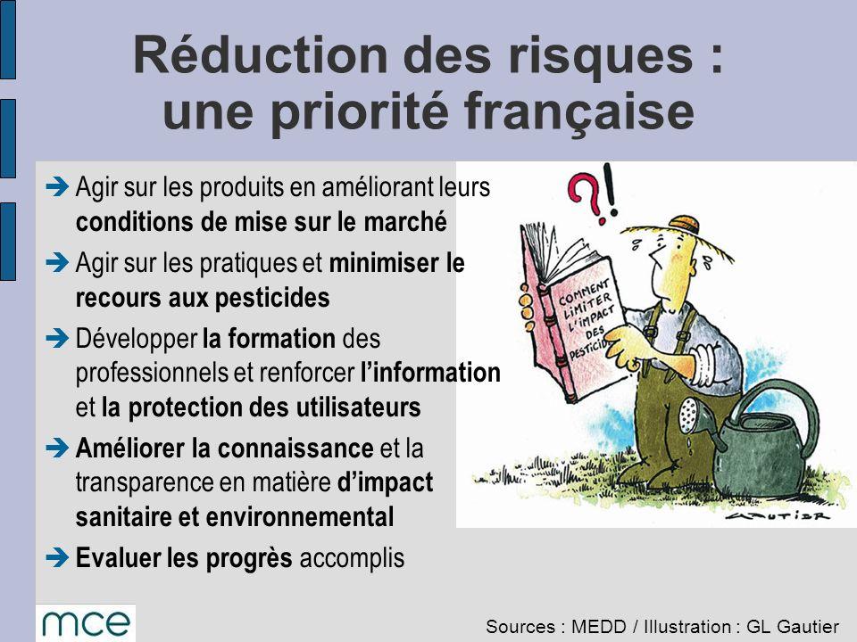 Réduction des risques : une priorité française