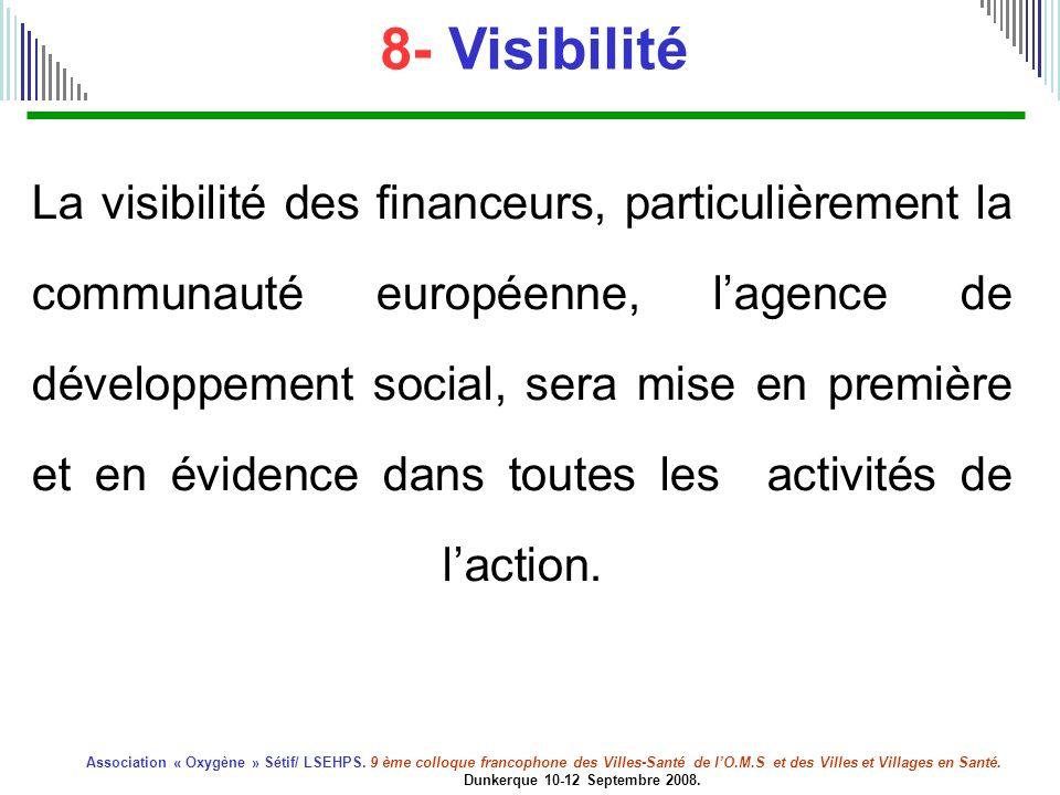 8- Visibilité