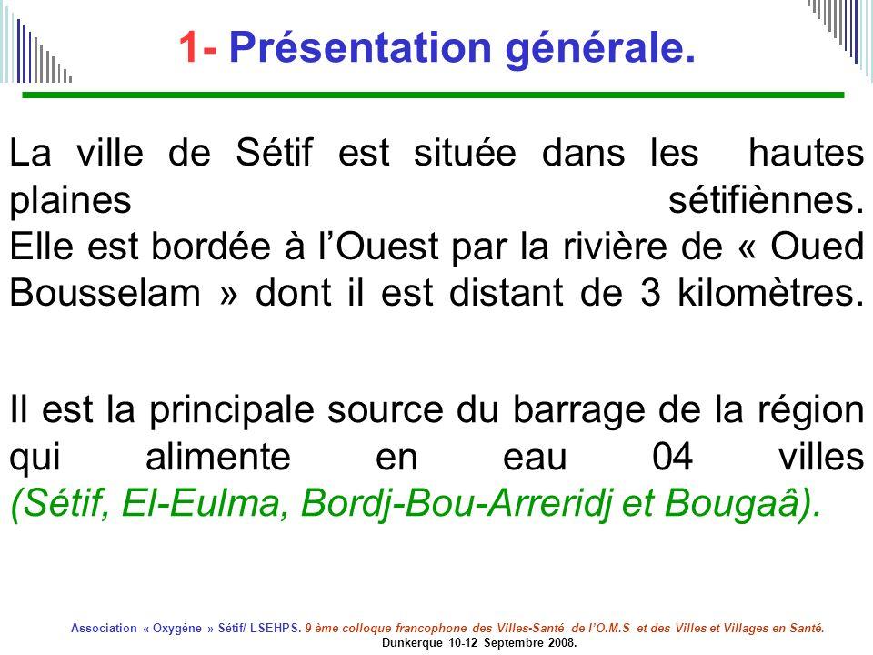1- Présentation générale.