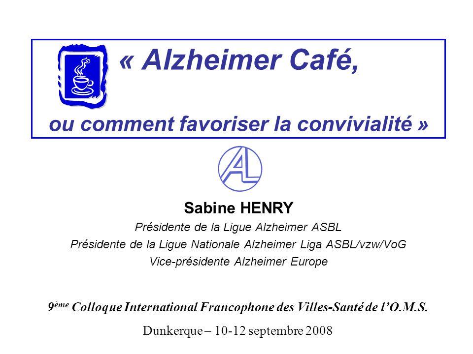 « Alzheimer Café, ou comment favoriser la convivialité »